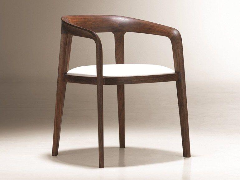 Stühle Designklassiker stuhl aus holz mit armlehnen corvo by nurus design noé duchaufour