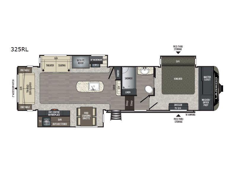 New 2019 Keystone Rv Laredo 325rl Fifth Wheel At Campers Inn