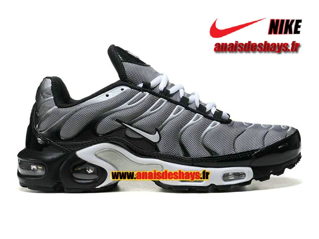 brand new 3f65a 5f03d Boutique Officiel Nike Air Max Tn Tuned Requin 2015 Homme Argent Noir Blanc