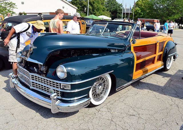 Chrysler Town Country Woody Convertible Classic Sports Cars