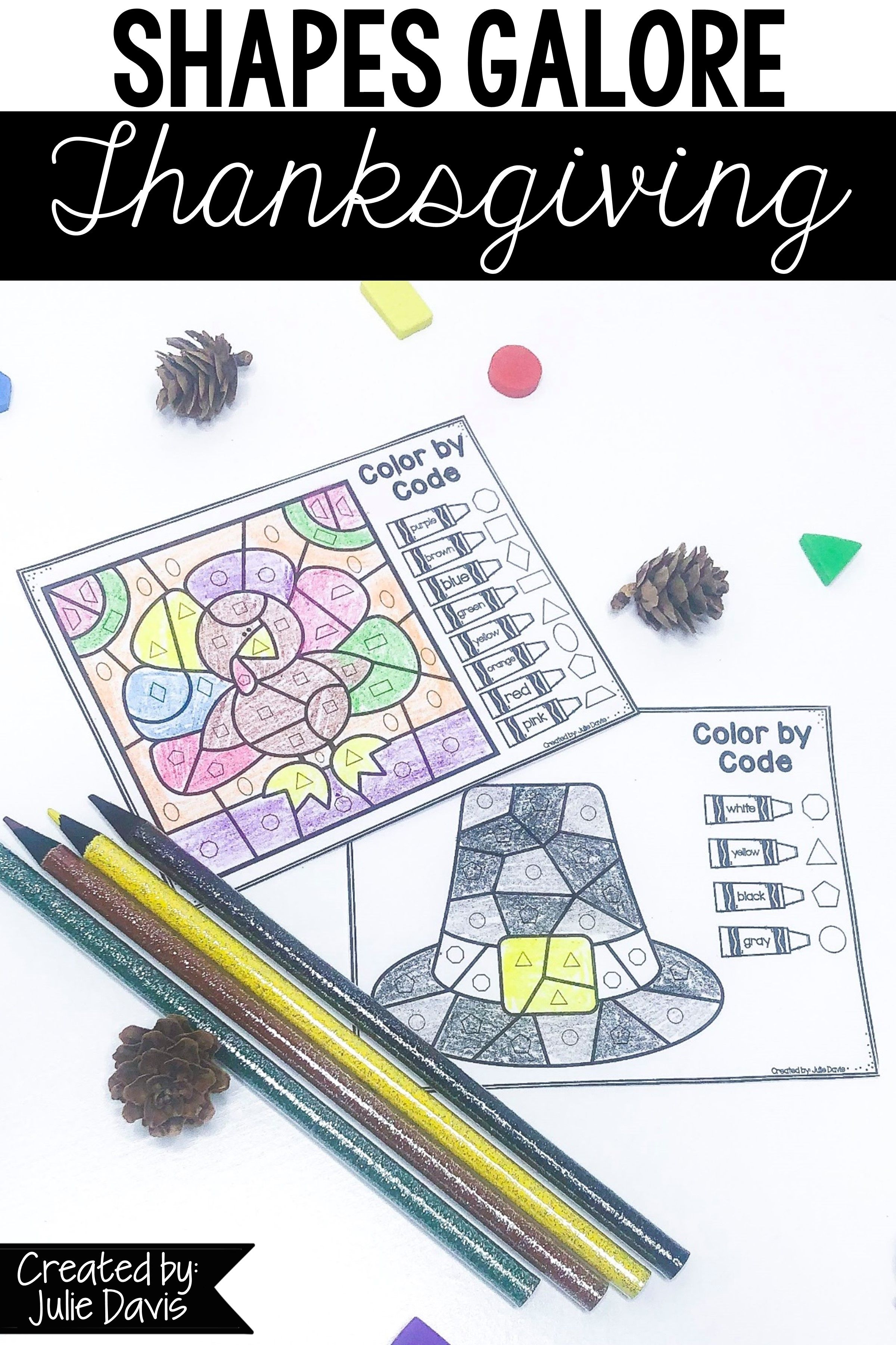 Thanksgiving 2d Shapes Games And Activities