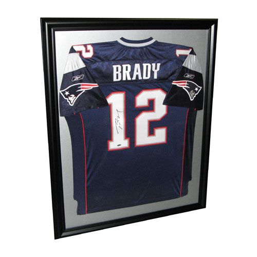 best loved 6bd2d 803f0 Brady framed jersey-doesn't have to be signed. Could you do ...