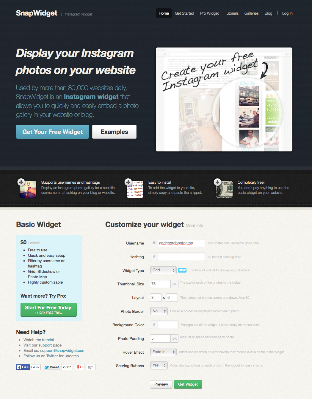 The Easiest Way To Embed An Instagram Feed On A Website Instagram Widget Create Website Web Development Resources