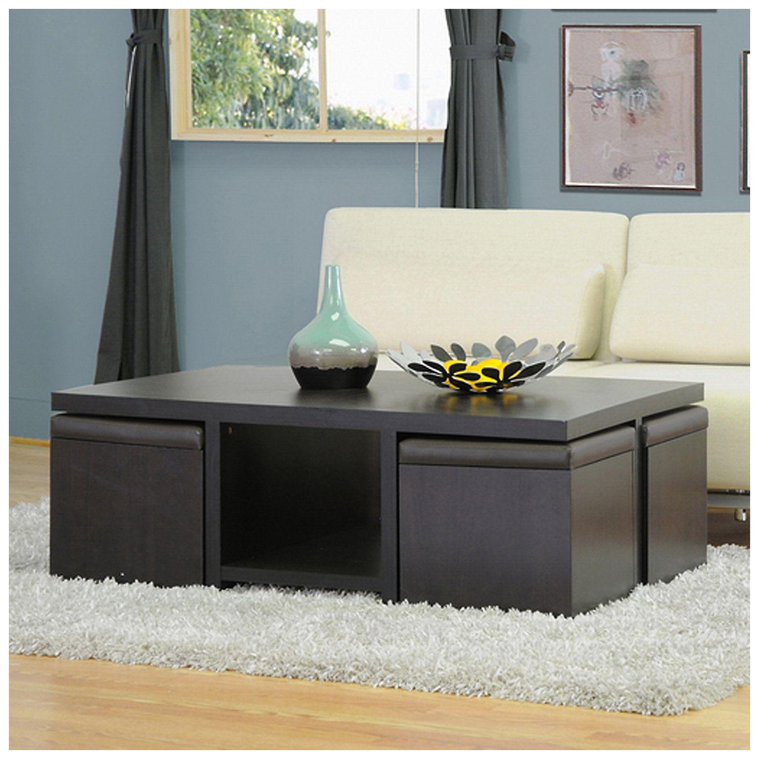 Baxton Studio Prescott 5 Piece Modern Table Stool Set Kohls In 2021 Coffee Table With Seating Coffee Table And Stool Set Coffee Table With Stools [ 1536 x 1536 Pixel ]