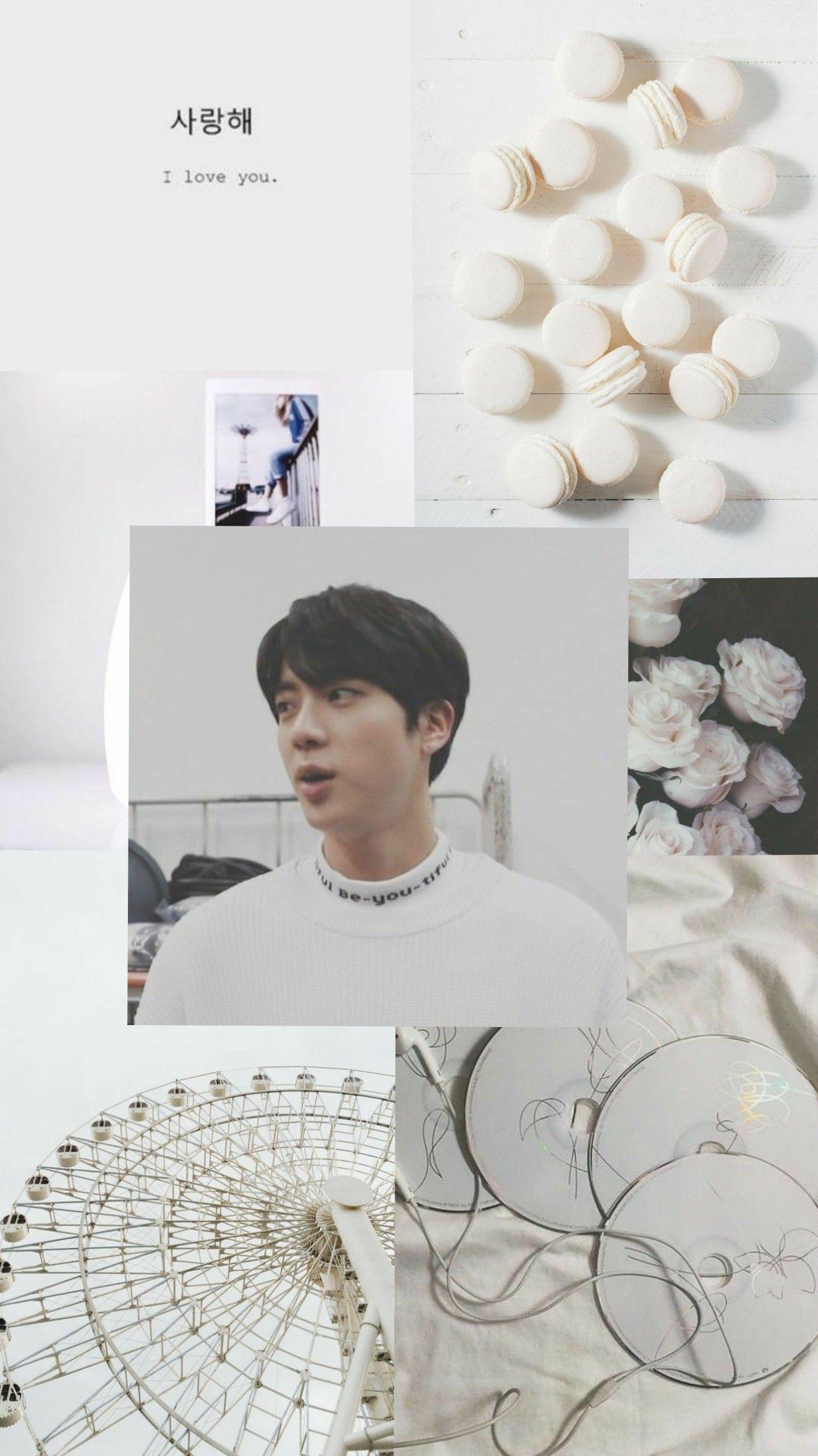 Seokjin Wallpaper Aesthetic Bts White Bts Aesthetic Wallpaper For Phone Bts Wallpaper Kpop Wallpaper Bts white aesthetic wallpaper