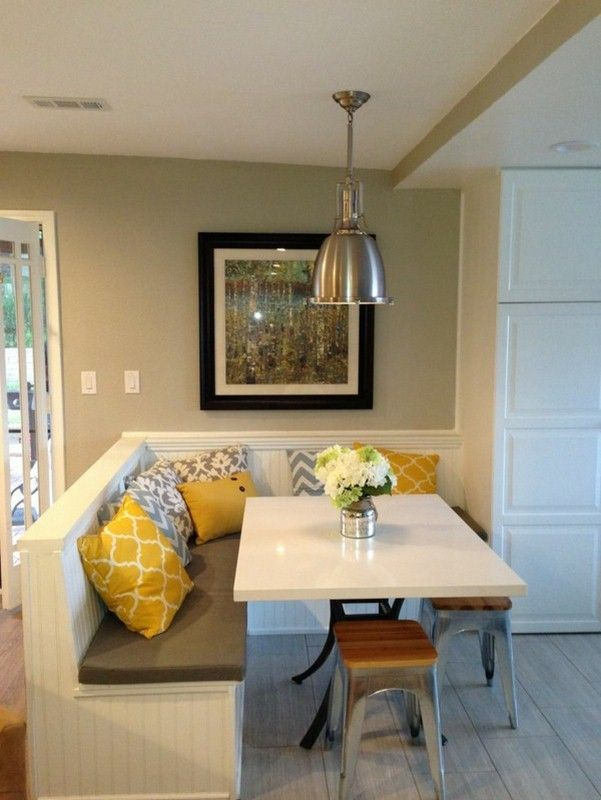Fabulous Dining Room Bench Seating Ideas With Additional Interior Design For Home