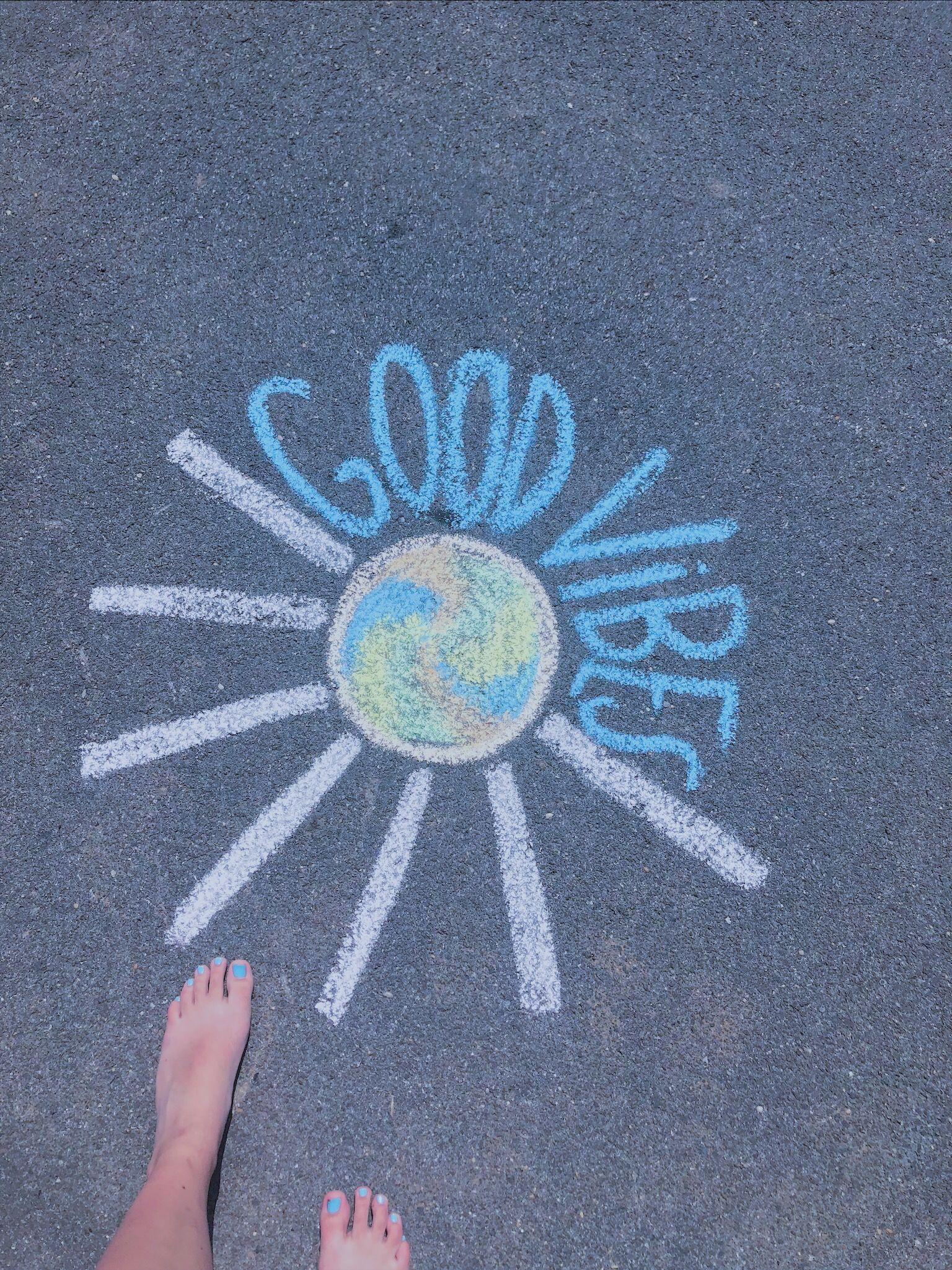 Vsco Trinitybailey With Images Sidewalk Chalk Art Sidewalk