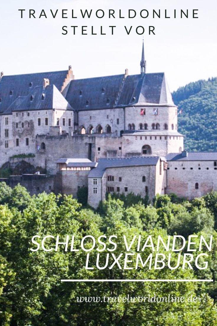 Schloss Vianden in Luxemburg ist eines der beeindruckendsten Schlösser in den Ardennen. Dies musst Du wissen, wenn Du es besichtigen willst.