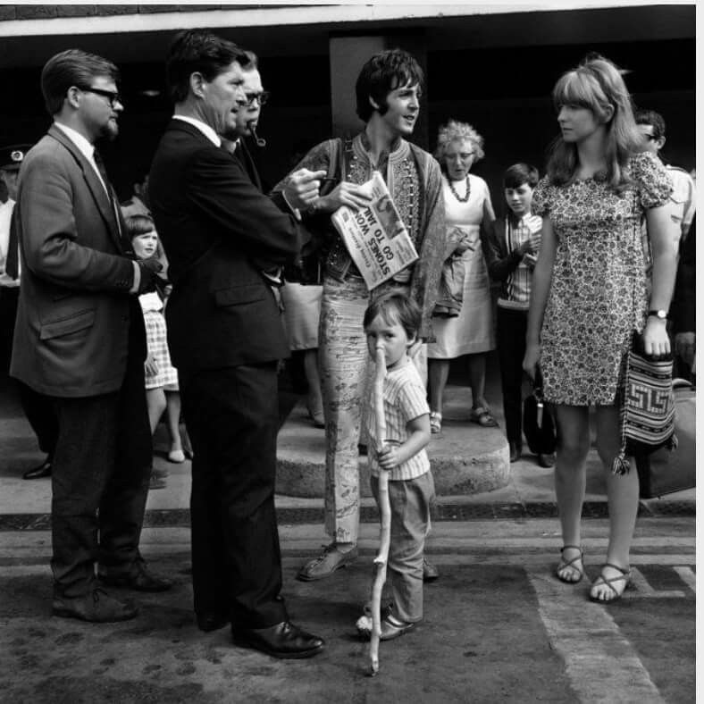 Julian Lennon With Paul McCartney And Jane Asher