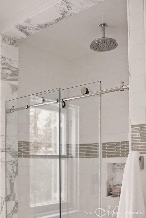 Pivot Vs Sliding Shower Doors The Small And Chic Home Sliding