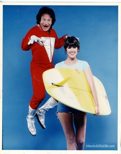 Mork & Mindy - Promo shot of Robin Williams & Pam Dawber
