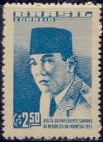Visit of President Sukarno of Indonesia in May 1959