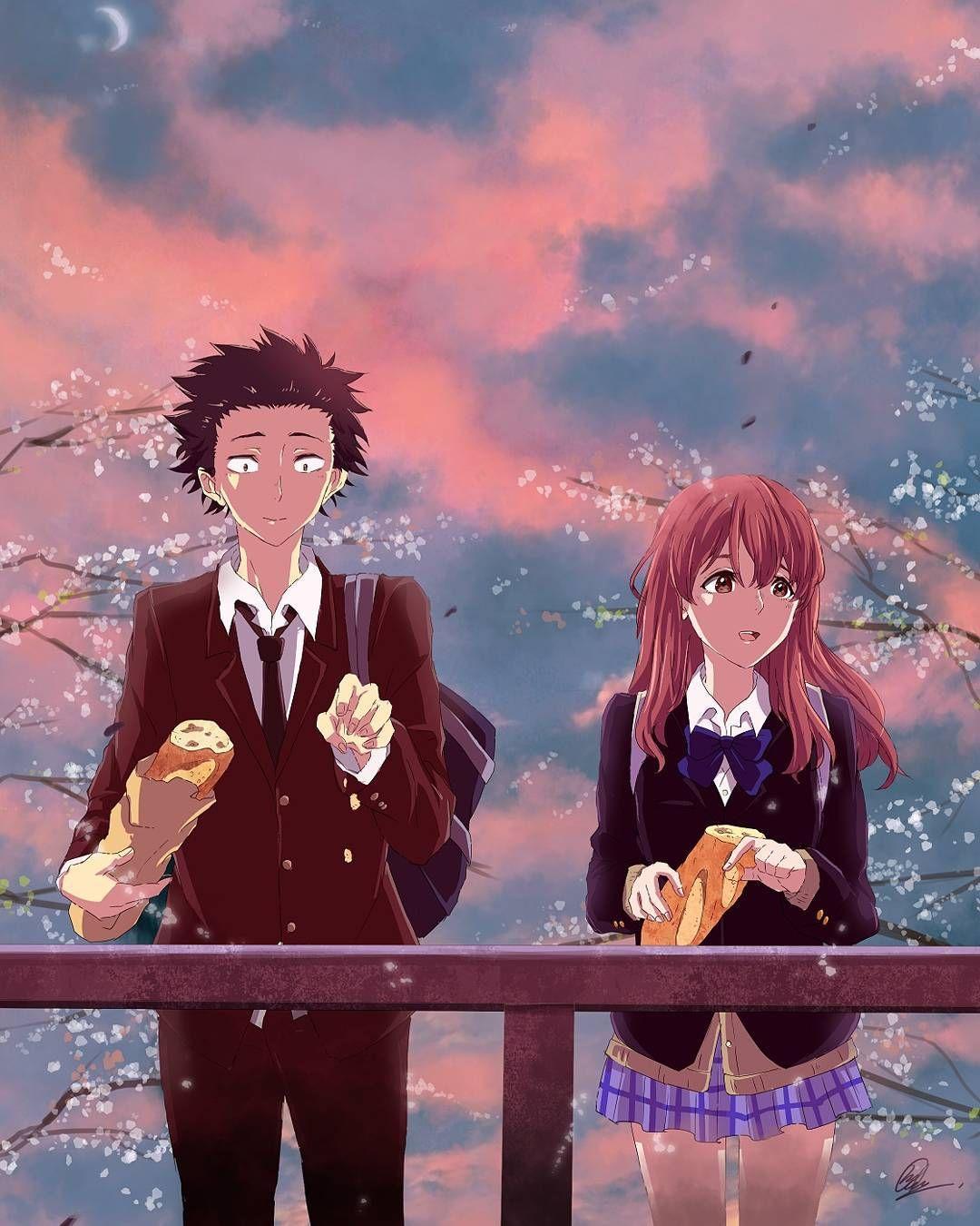 Kawaii Anime Couples  F F C B Pixivs On Instagram Anime Koe No Katachi Characters Boy Shoya Ishida Girl Shoko Nishimiya Artist G Ef Bc Atwitter