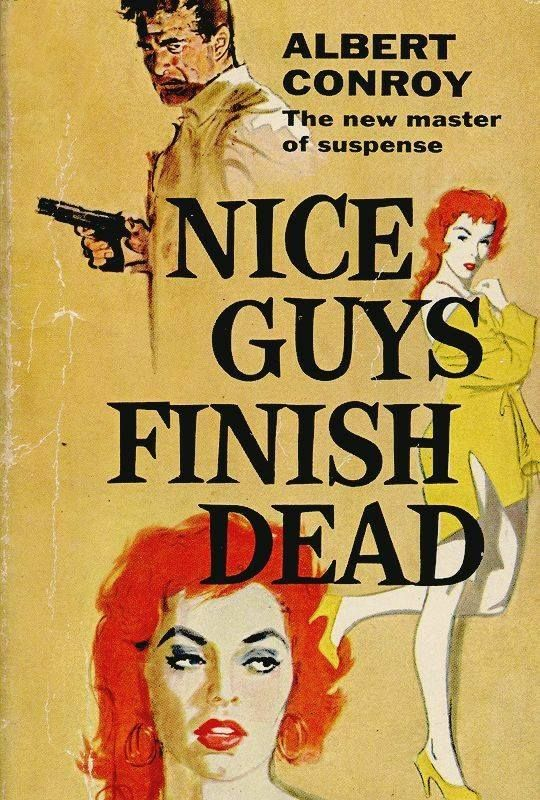 Image result for nice guys finish dead pulp book cover