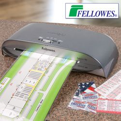 """#laminator Save BIG off retail on this Fellowes 9.5"""" laminator! One of our office product buyers found a great closeout buy on this Fellowes 9.5"""" laminator and snapped them up as quickly as he could."""