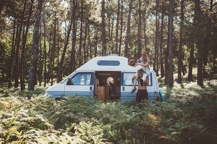 BLOG POST: Roll with Lauren + Calum in a VW Van #tinyhousemovement #homeiswhereyouparkit #vanlife
