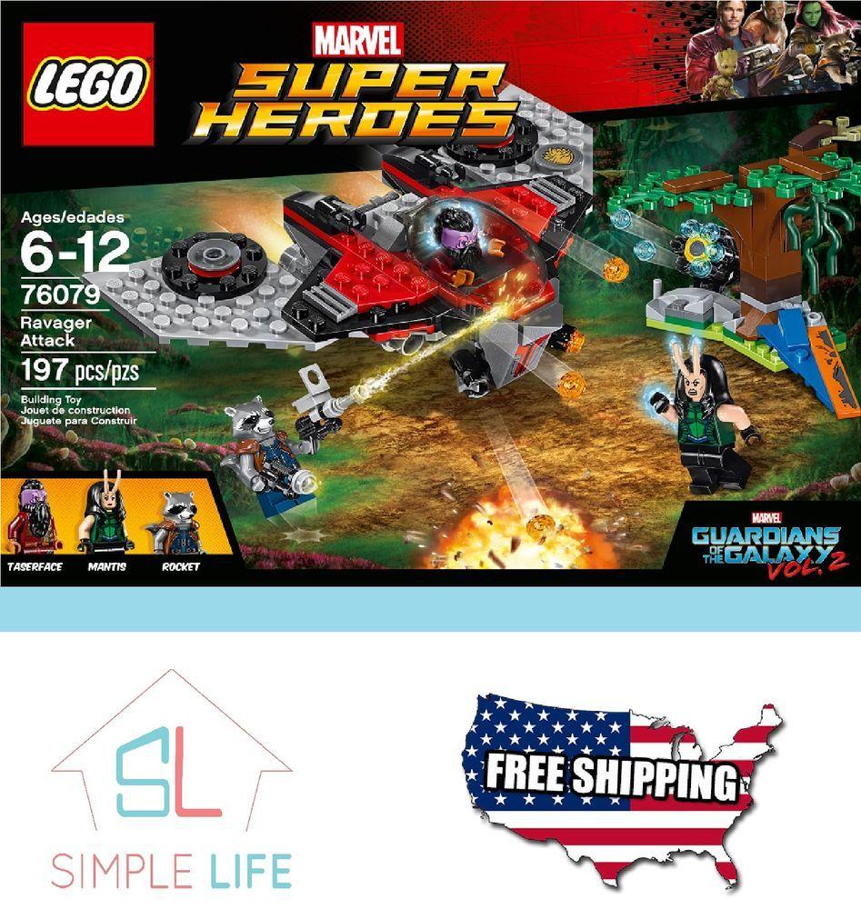 Sets Legends Vol New Super Lego Volume 2 Set Guardians Marvel Galaxy gbf67y