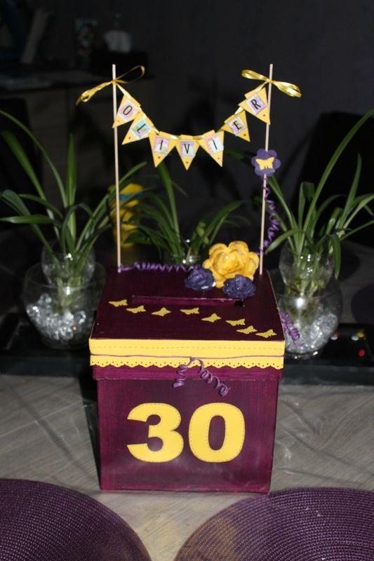 Souvent Urne anniversaire | décoration anniversaire | Pinterest | Urne  TZ61