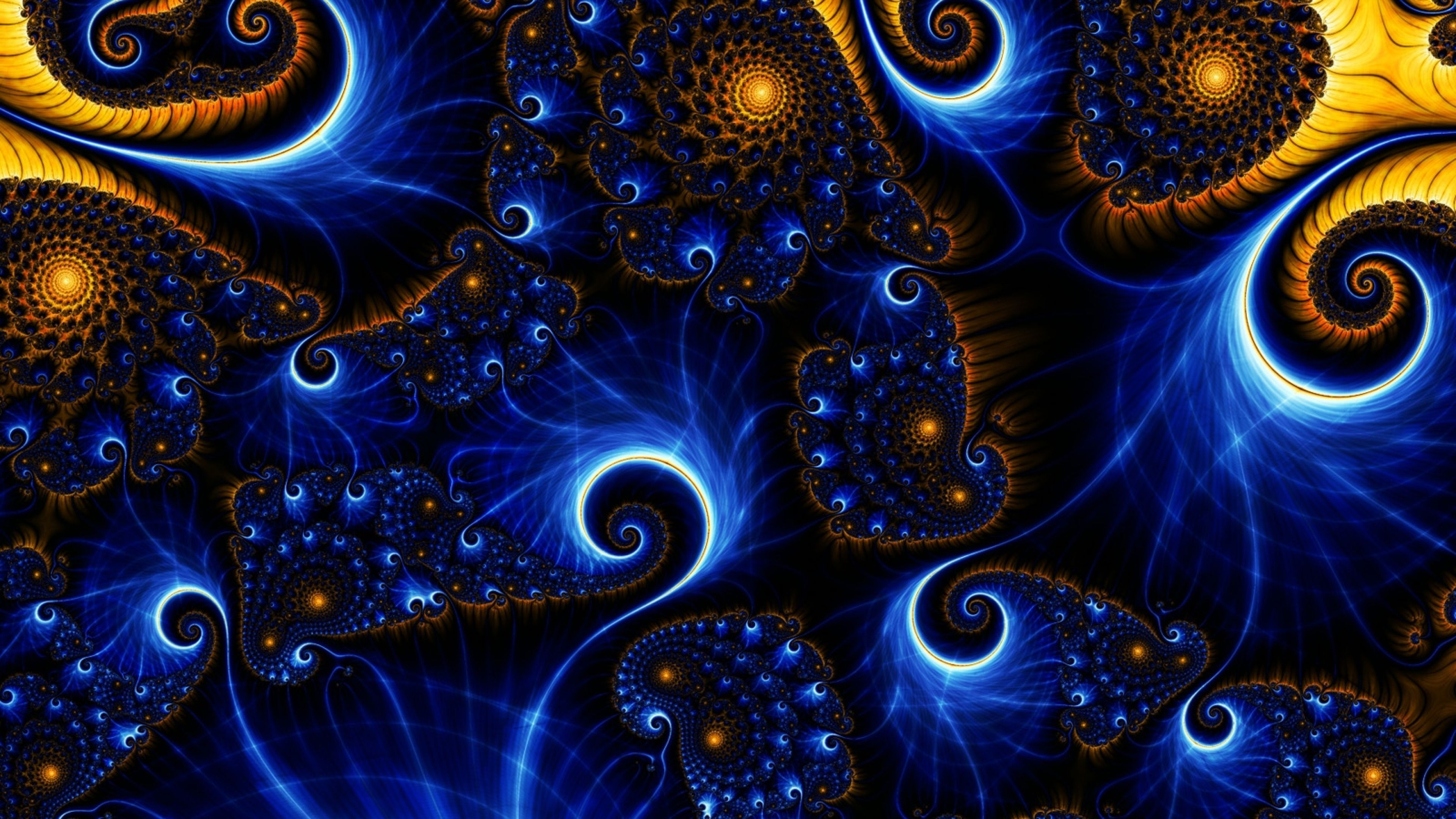 4K Ultra HD Fractal Wallpapers HD, Desktop Backgrounds 3840x2160 ... | Fractals in 2019 ...