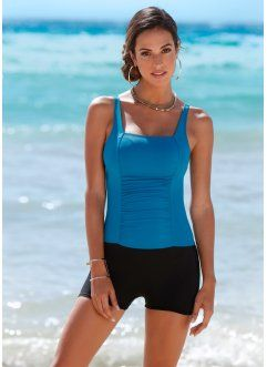 Badpak Short.Badpak Bpc Selection Petrol Zwart Online Einkaufe Swimsuits