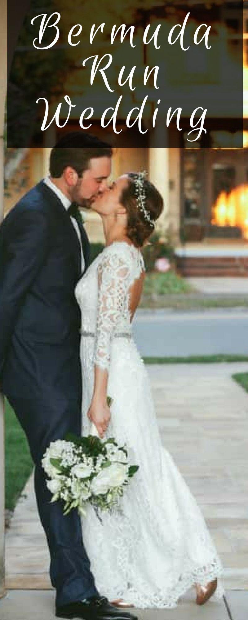 Bermuda run wedding weddings nontraditional wedding and diy