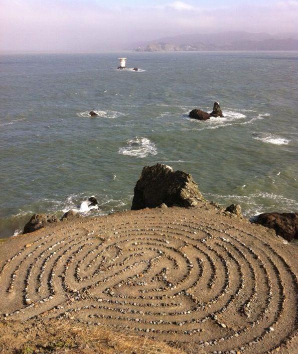 JOJO POST LABYRINTH: California, Lands' End Labyrinth.