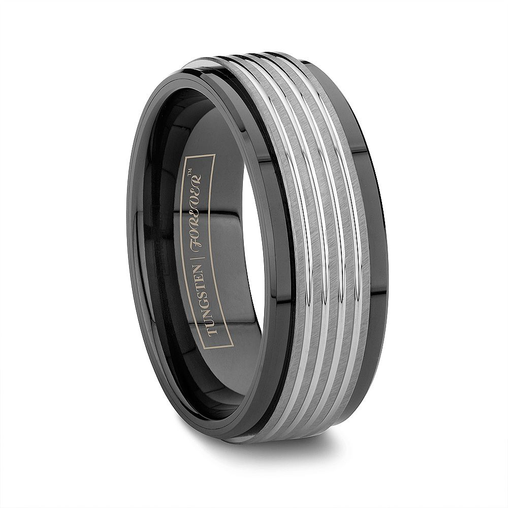 wide black best ceramic wedding band for men reminds me of the