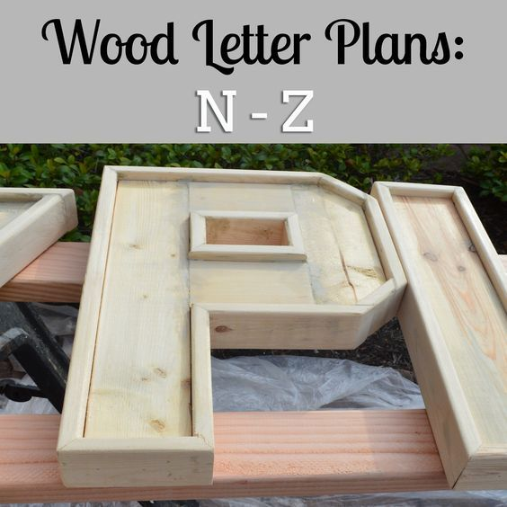 Diy Plans To Make Wood Letters N Z Large Wood Letters Woodworking Projects Plans Wood Letters