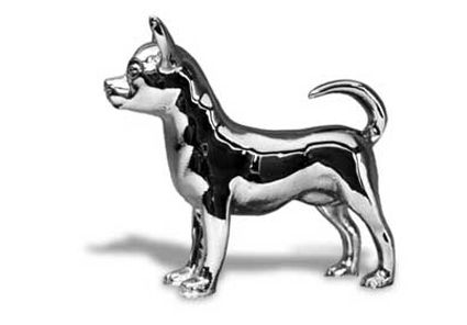 Chihuahua Hood Ornament Chihuahua Hood Ornaments Wildlife Art