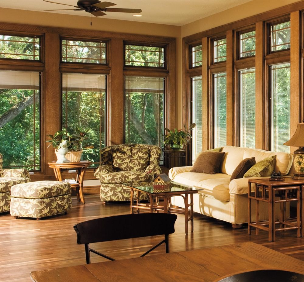 Relaxing Wooded Retreat Designer Series 174 Casement