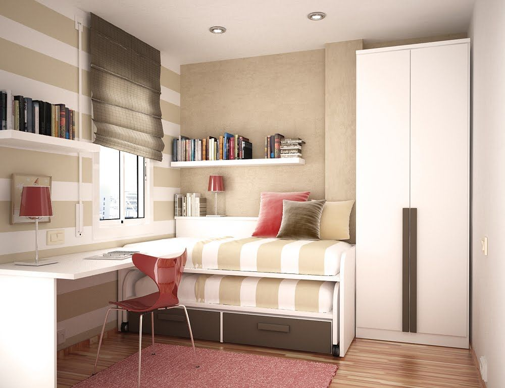 Small Bedroom Ideas For Two Part - 45: 30 Space Saving Beds For Small Rooms