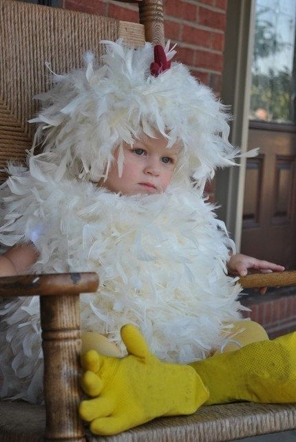 sale today only feathered chicken halloween costume boys girls unisex baby infant toddler kids size 0 - Where To Buy Infant Halloween Costumes