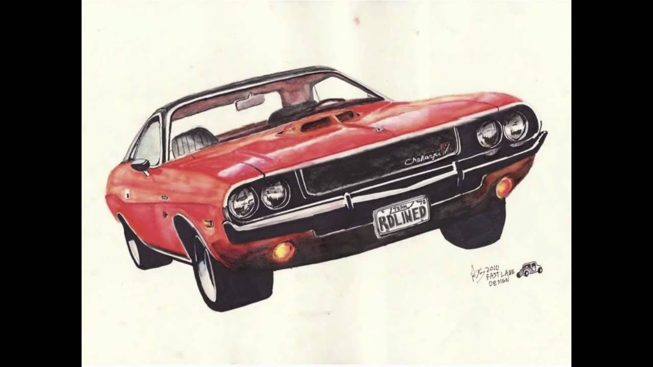 My Classic Car Artwork Ryan Sardachuk Fast Lane Design Youtube