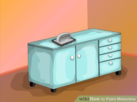 Best Image Titled Paint Melamine Step 1 Painting Melamine 640 x 480