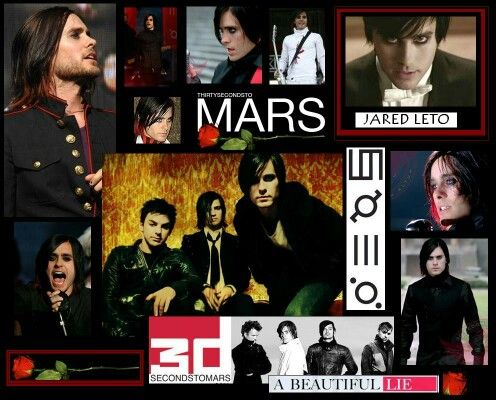 30 Seconds To Mars With Images 30 Seconds To Mars Jared Leto
