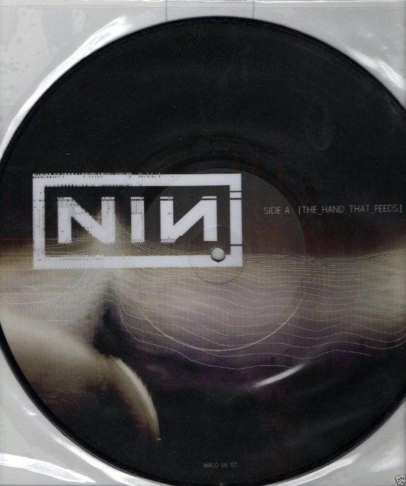 NINE INCH Nails Hand That Feeds 2005 USA Very Rare Picture Disc 10 ...