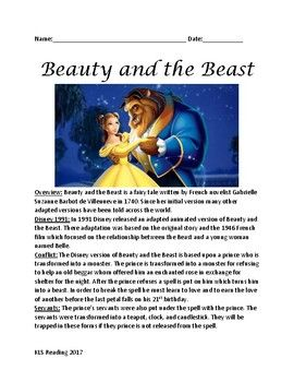 beauty   beast informational article  facts plot review products