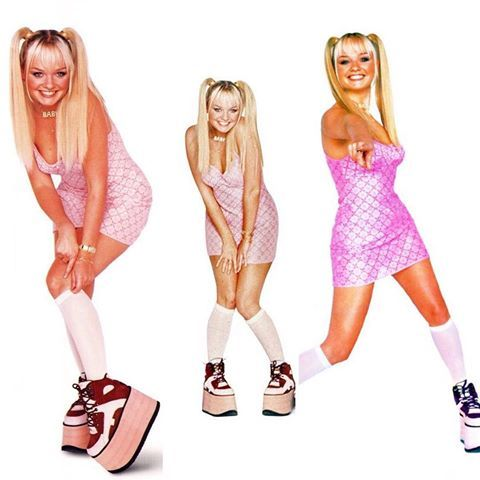 Image result for baby spice outfits