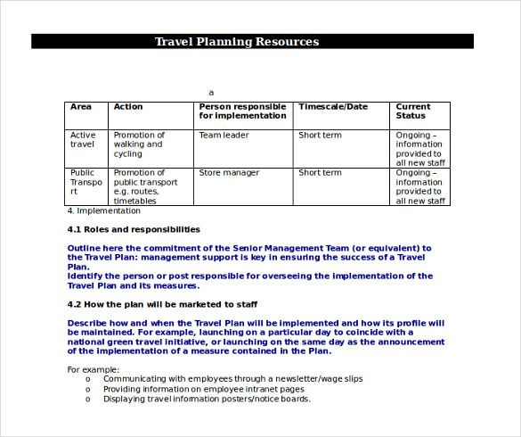 26 Trip Itinerary Templates Pdf Doc Excel Travel Itinerary