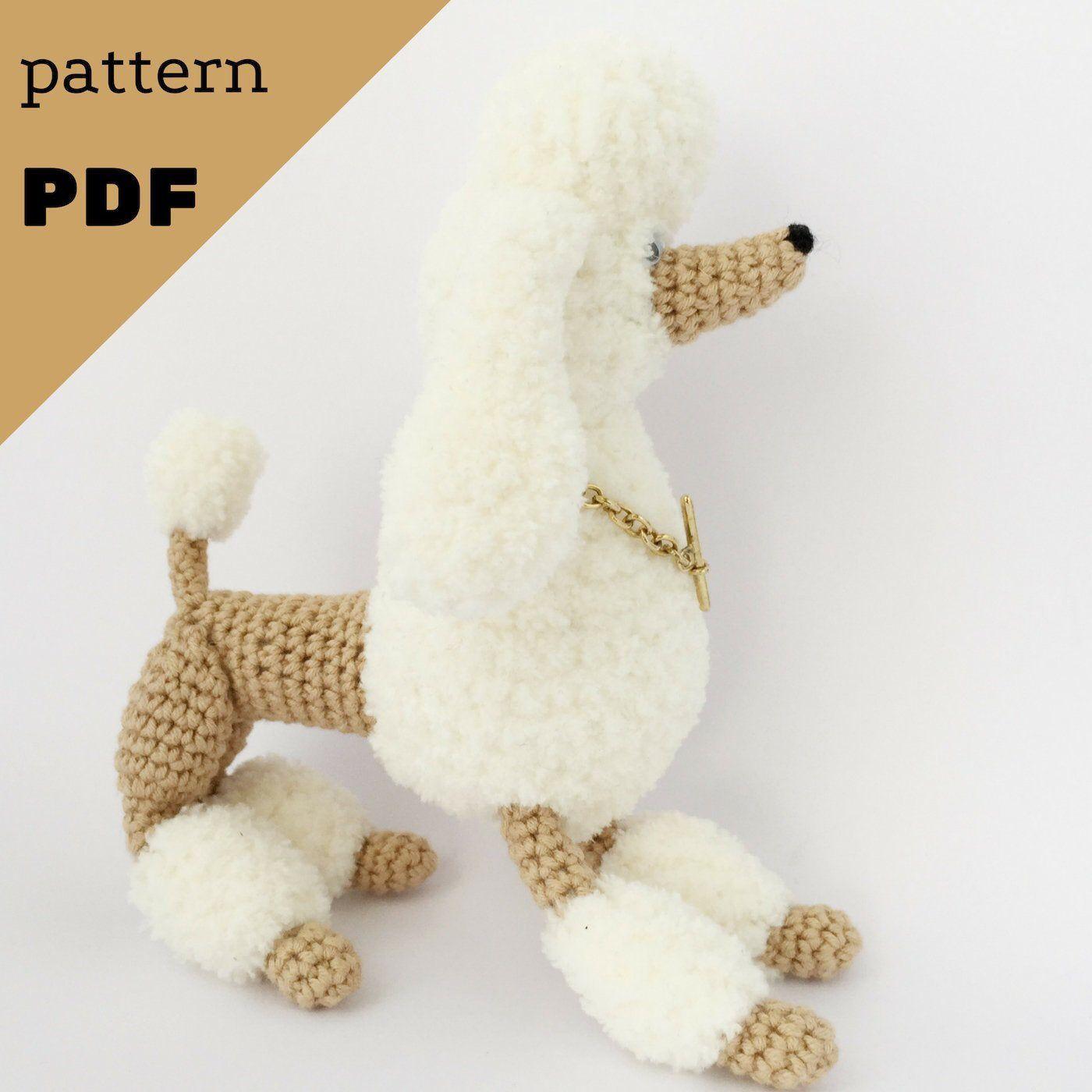 Cube Puppy Dog Amigurumi Pattern | 1400x1400