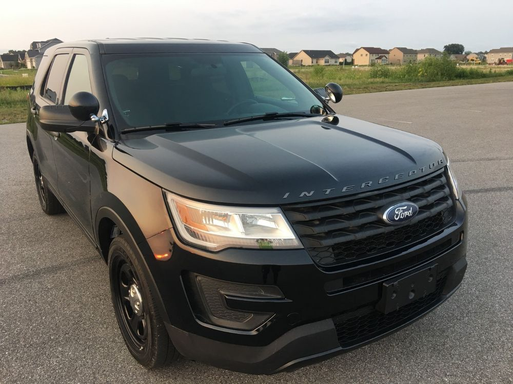 For Sale 2018 Ford Explorer Police Interceptor 2018 Ford Explorer