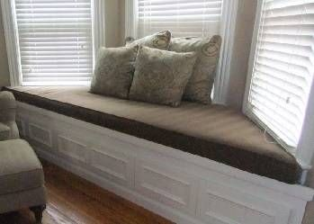 Window Seat Cushions Trapezoid Shape Window Seat Cushions