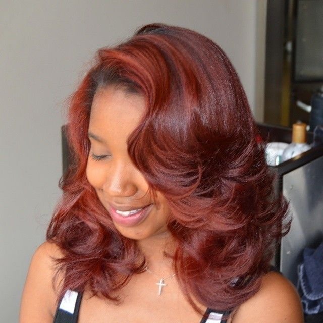 Awesome Even More Hair Color Combinations On Black Women That Will Blow Hairstyles For Women Draintrainus