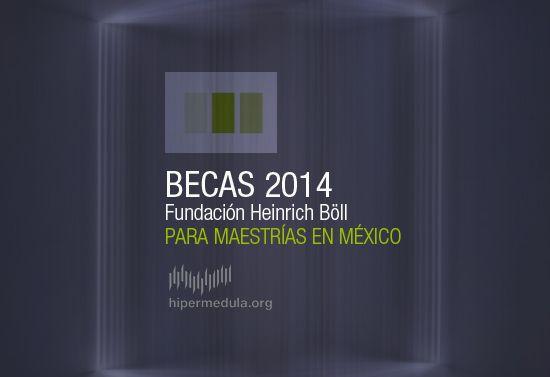 Becas 2014 para maestrías en México :: hipermedula.org