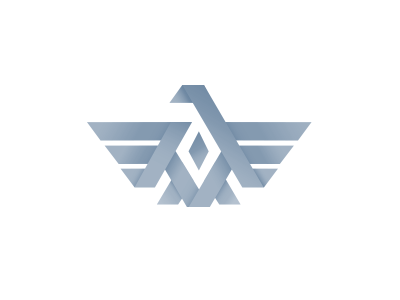 eagle symbol logo -#main