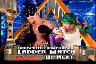 Brayan_Y2J: Undertaker Vs. Jeff Hardy Ladder Match   Jeff hardy, Match of  the day, The hardy boyz