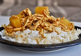 Wifessionals: Curried Pineapple Chicken {Crockpot}
