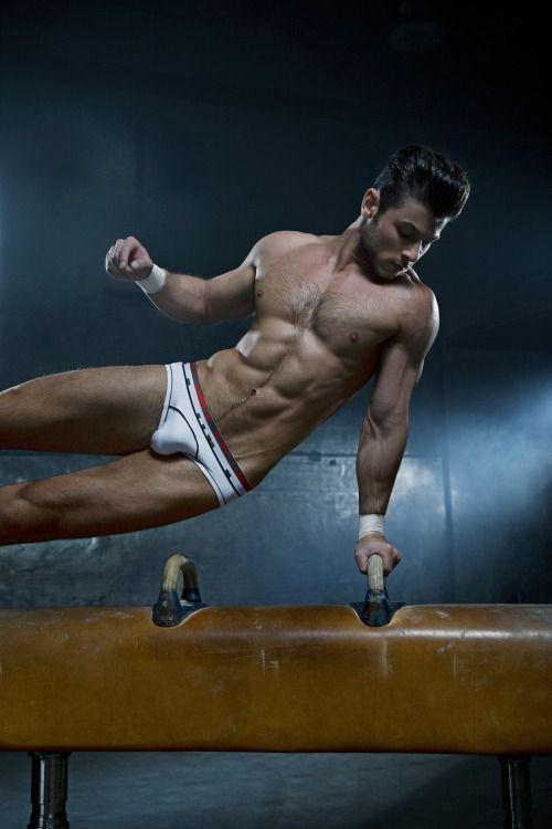 Nudists young gymnastics