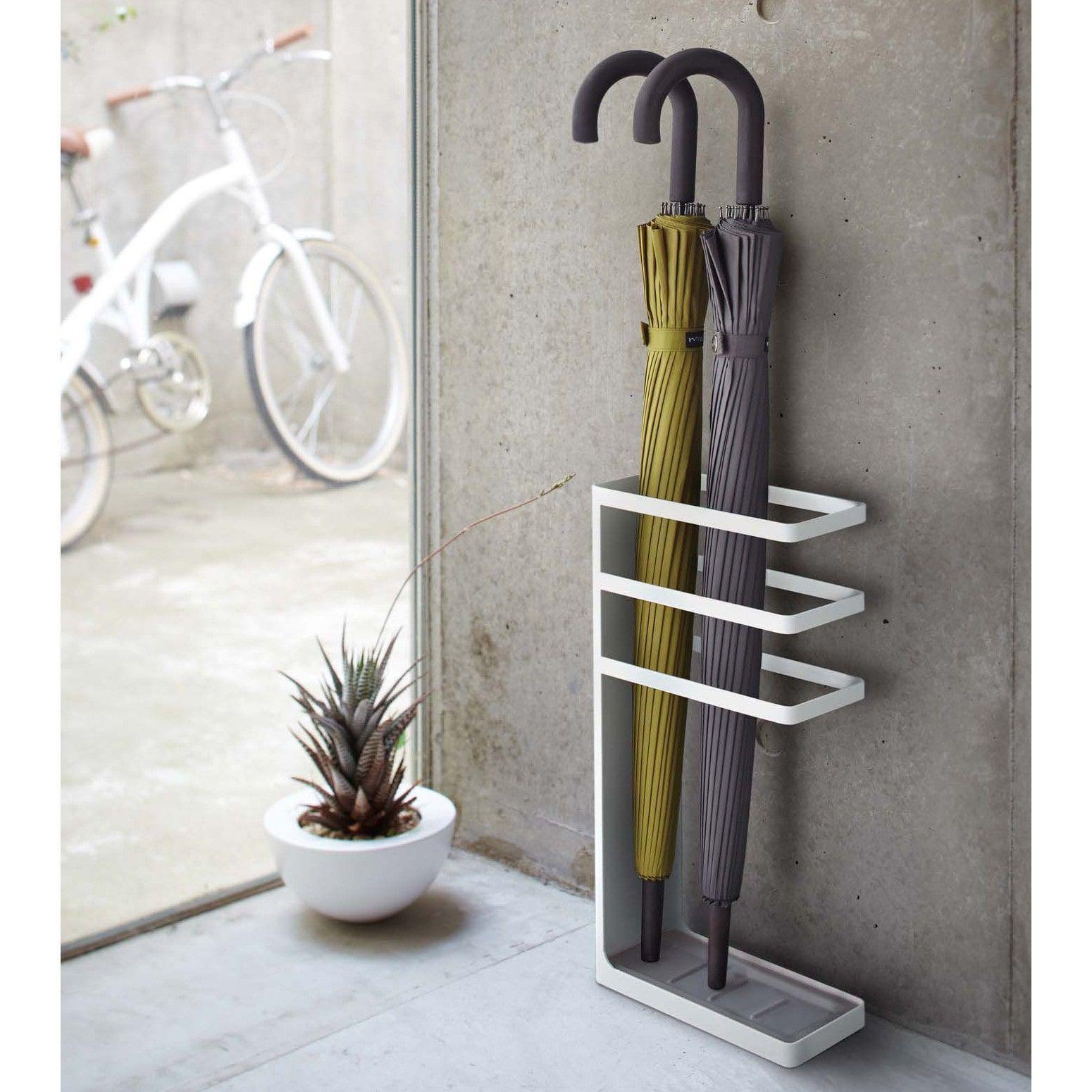Flure Haus Deko Und Flur Design: Yamazaki Layer Metal Umbrella Stand (Black) In 2019