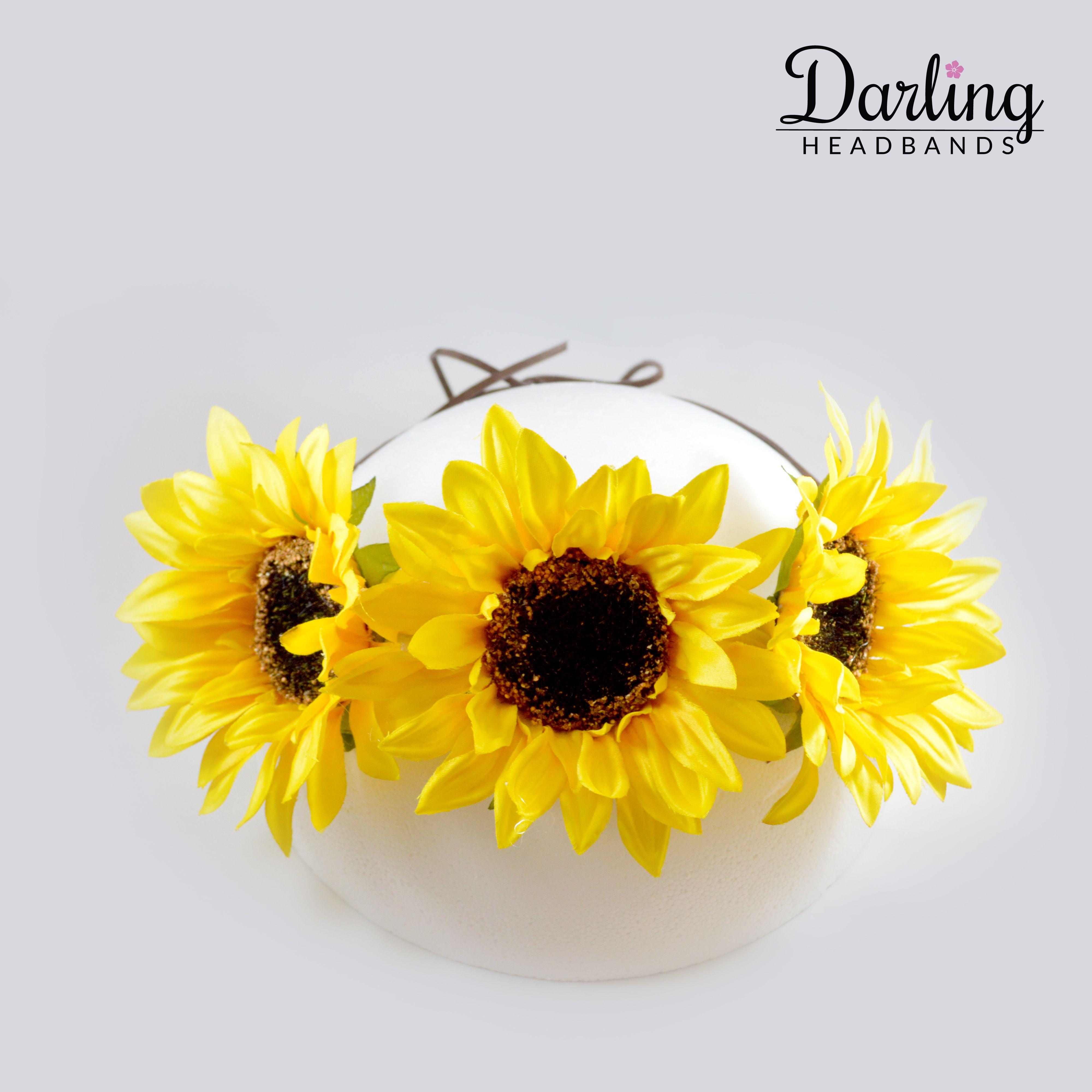 Sunflower Crown 80dac277258